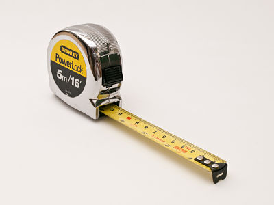 Leer una cinta métrica