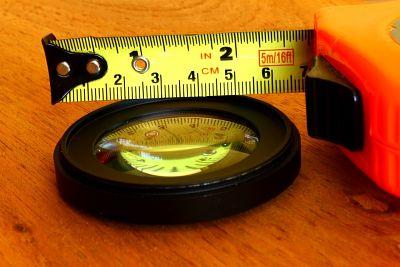 Leer un flexómetro