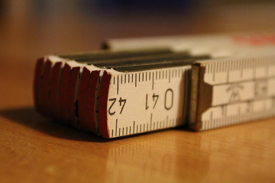 Tiras de cinta métrica